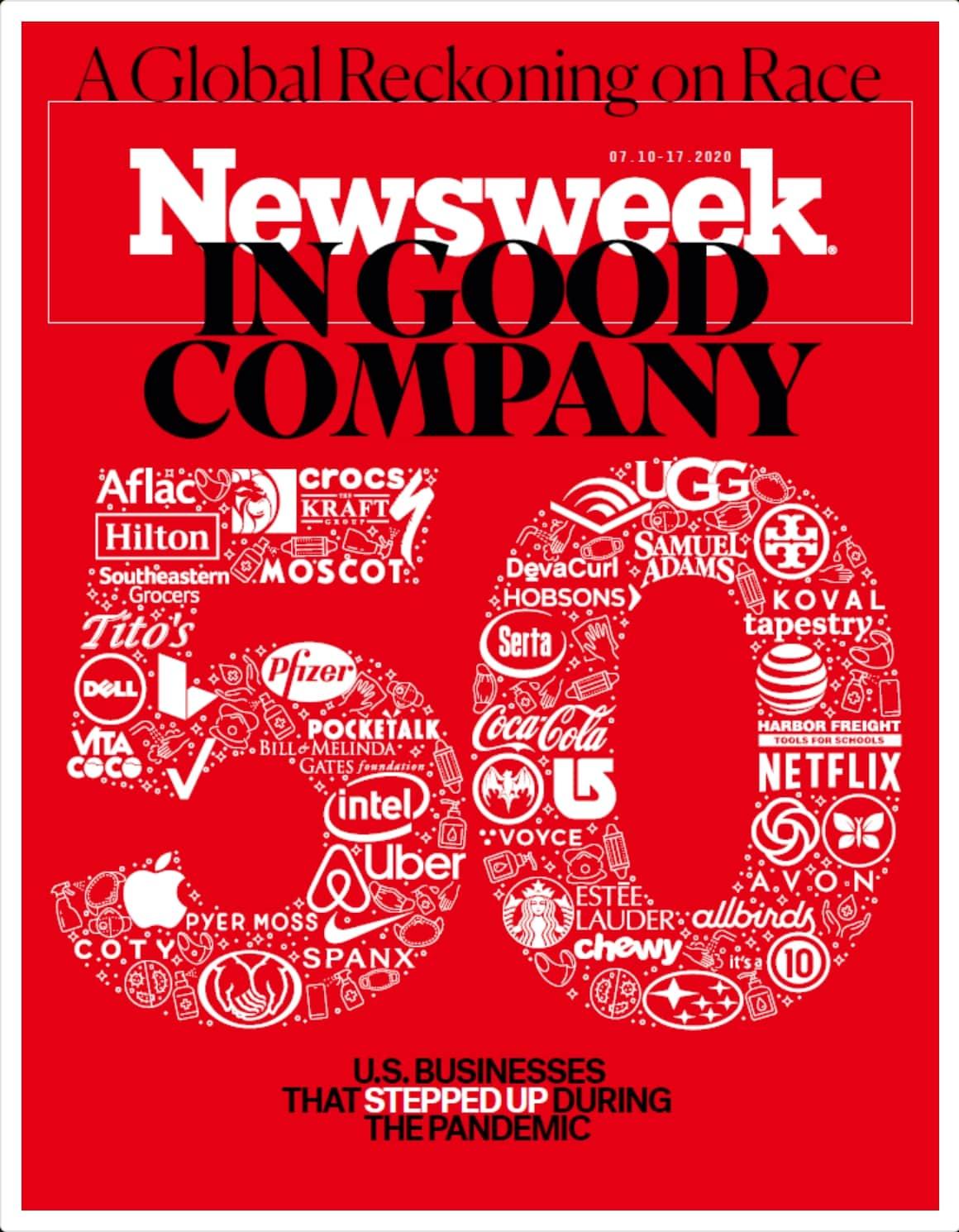 ポケトーク|Newsweek誌の「パンデミックにおけるGood company 50社」に選出